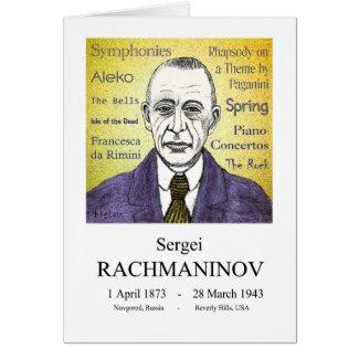 Rachmaninov Cards