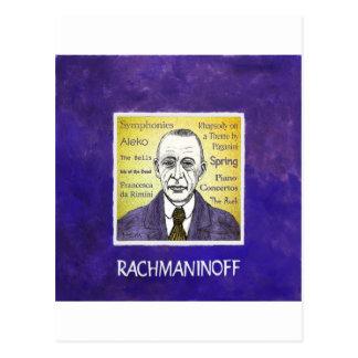 Rachmaninov Postcard