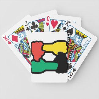 Racial Harmony Bicycle Playing Cards