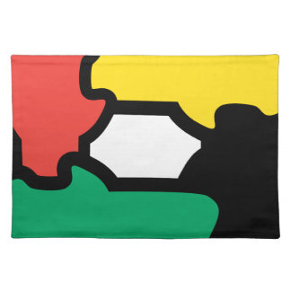 Racial Harmony Cloth Place Mat