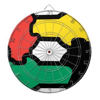 Racial Harmony Dart Boards