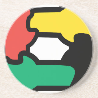 Racial Harmony Sandstone Coaster