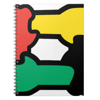 Racial Harmony Spiral Note Books