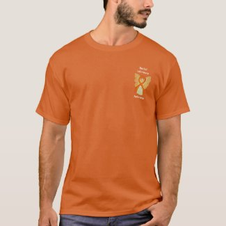 Racial Tolerance Awareness Ribbon Angel Shirts