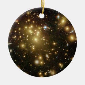 Racimo Abell 1689 de la galaxia Ornatos