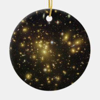 Racimo Abell 1689 de la galaxia en virgo de la con Ornamentos De Reyes Magos