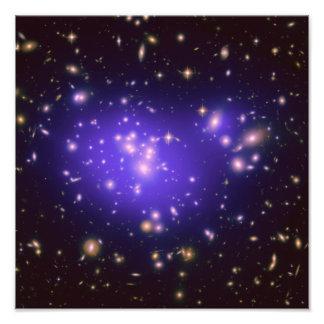 Racimo Abell 1689 de la galaxia Fotografía