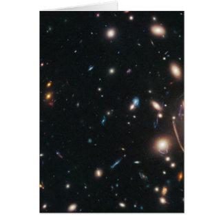 Racimo Abell 383 de la galaxia Tarjeta De Felicitación