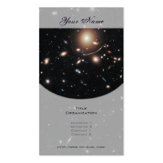 Racimo Abell 383 de la galaxia Tarjetas De Visita