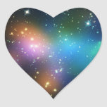 Racimo Abell 520 de la galaxia Pegatina En Forma De Corazón