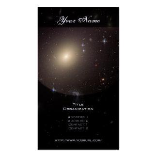 Racimo Abell S0740 de la galaxia Tarjetas De Visita