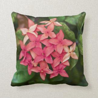 Racimo de flor almohadas