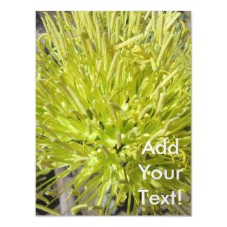 Racimo de flor gigante del agavo invitaciones magnéticas