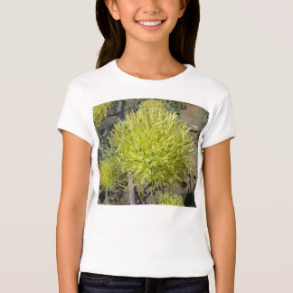 Racimo de flor gigante del agavo playera