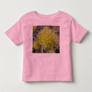 Racimo de flor gigante del agavo playera de bebé