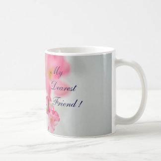 Racimo de flores taza