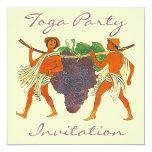 Racimo de invitación del fiesta de la toga de las