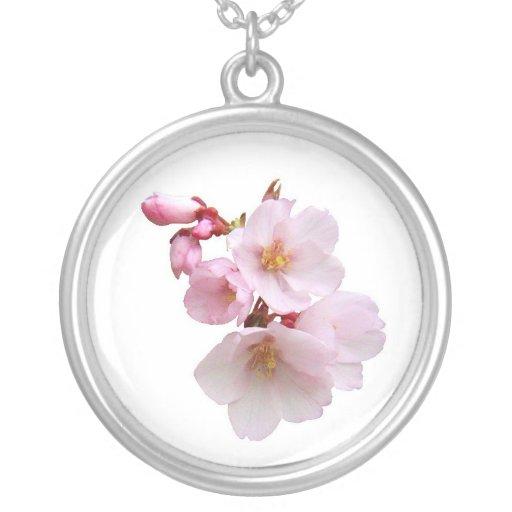 Racimo de la flor de cerezo colgante redondo