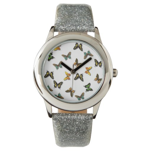Racimo de mariposas relojes de mano