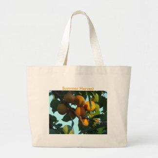 Racimo del albaricoque cosecha del verano bolsa de mano