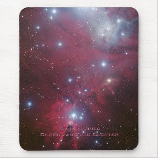 Racimo del árbol de navidad - NGC 2264 Tapetes De Ratones
