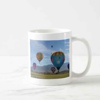 Racimo del globo taza de café