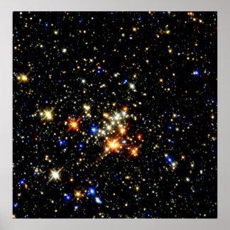Racimo del Quintuplet de NASAs Póster