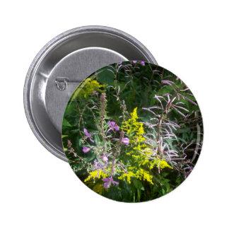 Racimo del Wildflower Pin Redondo 5 Cm