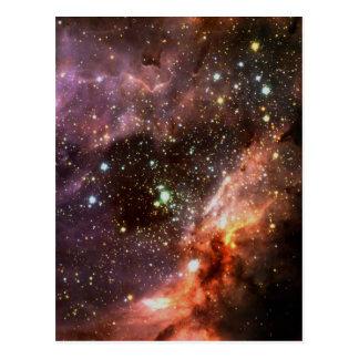 Racimo estelar M17 Tarjeta Postal