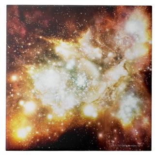 Racimo estupendo del nacimiento de la estrella teja  ceramica