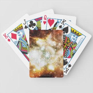 Racimo estupendo del nacimiento de la estrella baraja cartas de poker