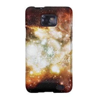 Racimo estupendo del nacimiento de la estrella samsung galaxy SII fundas