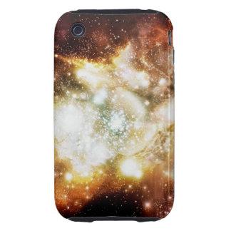 Racimo estupendo del nacimiento de la estrella iPhone 3 tough fundas