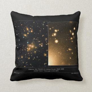 Racimo globular Abell 1689 de la galaxia de los cú Cojin