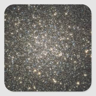 Racimo globular M13 Pegatina Cuadrada