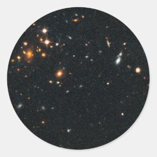 Racimo IDCS J1426.5 de la galaxia+3508 Etiqueta Redonda