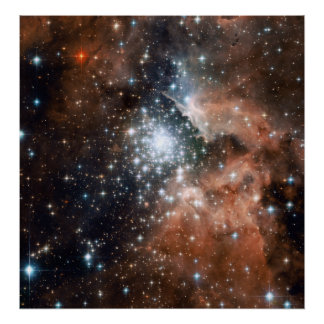Racimo joven NGC3603 Poster