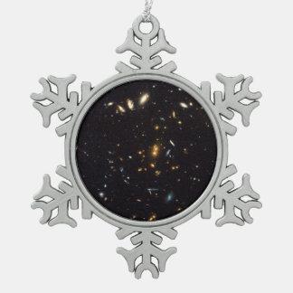 Racimo masivo RDCS 1252 de la galaxia Adorno De Peltre En Forma De Copo De Nieve