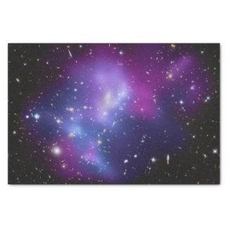 Racimo púrpura de la galaxia papel de seda pequeño