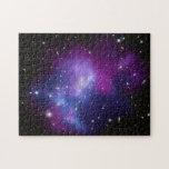 Racimo púrpura de la galaxia puzzles