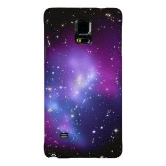 Racimos cósmicos hermosos de la galaxia del funda galaxy note 4