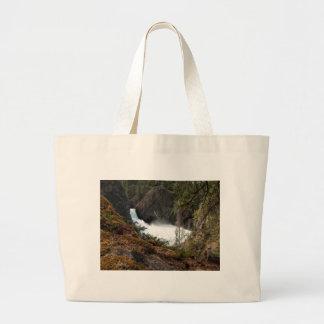 Racine Falls Tote Bags