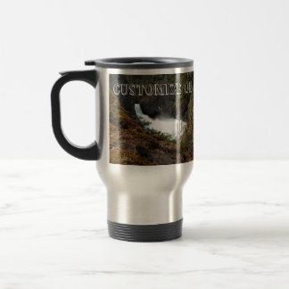 Racine Falls; Customizable Travel Mug