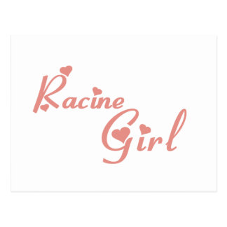 Racine Girl tee shirts Post Cards