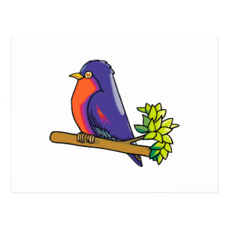 Racine Robin Post Card