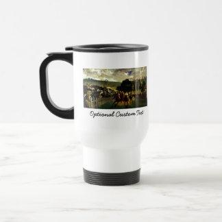 Racing at Longchamp Travel Mug