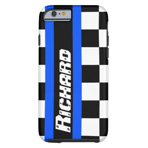 Racing auto sports chequered flag name iPhone 6 ca iPhone 6 Case
