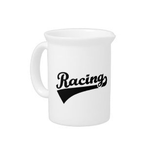 Racing Beverage Pitcher