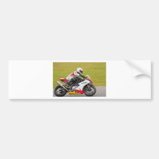 Racing bike 60 bumper sticker