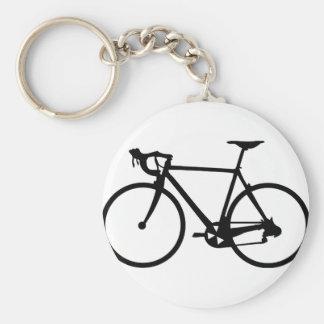 racing bike - racer bicycle keychain